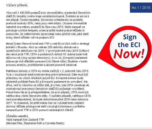 newsletter eci stop ttip